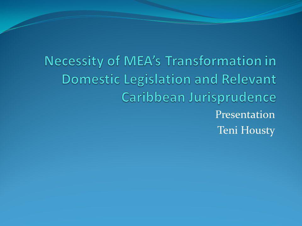 Presentation Teni Housty