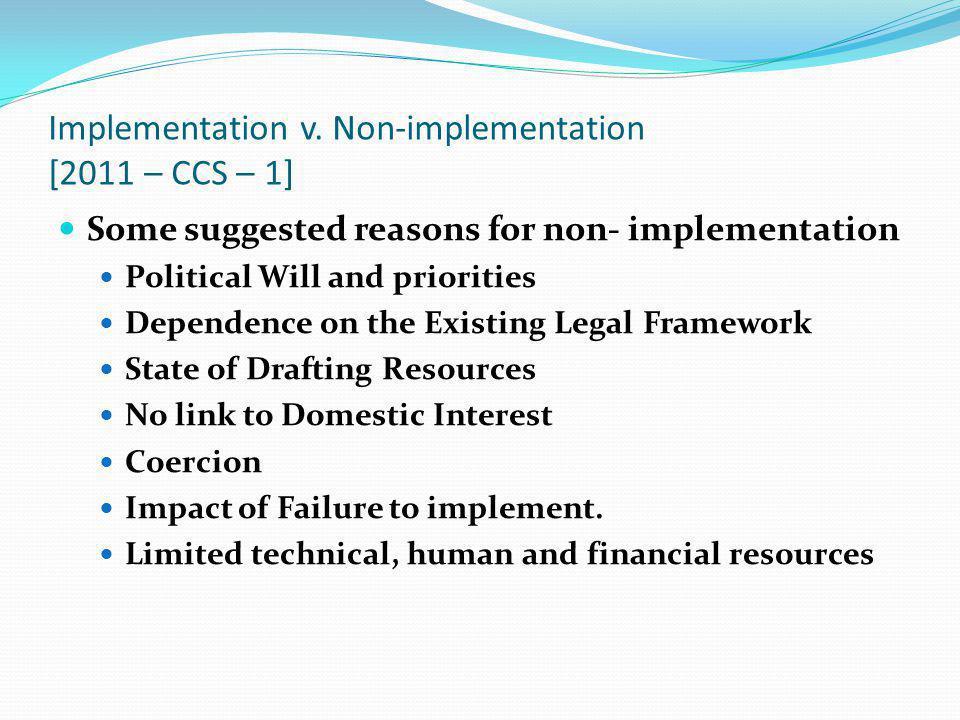 Implementation v.