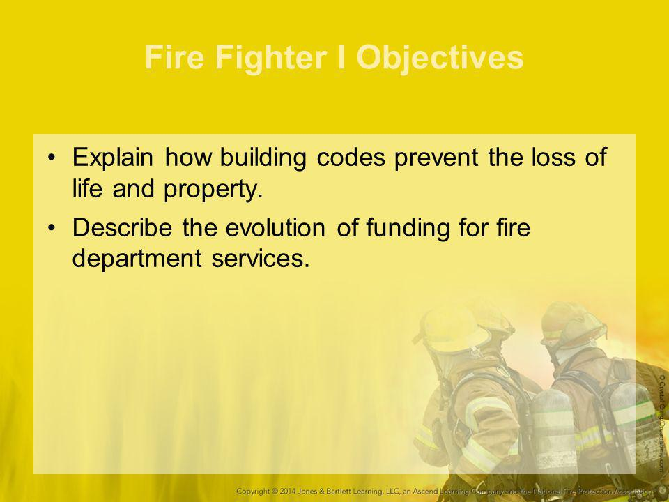 Roles and Responsibilities for Fire Fighter I Combat a ground cover fire.