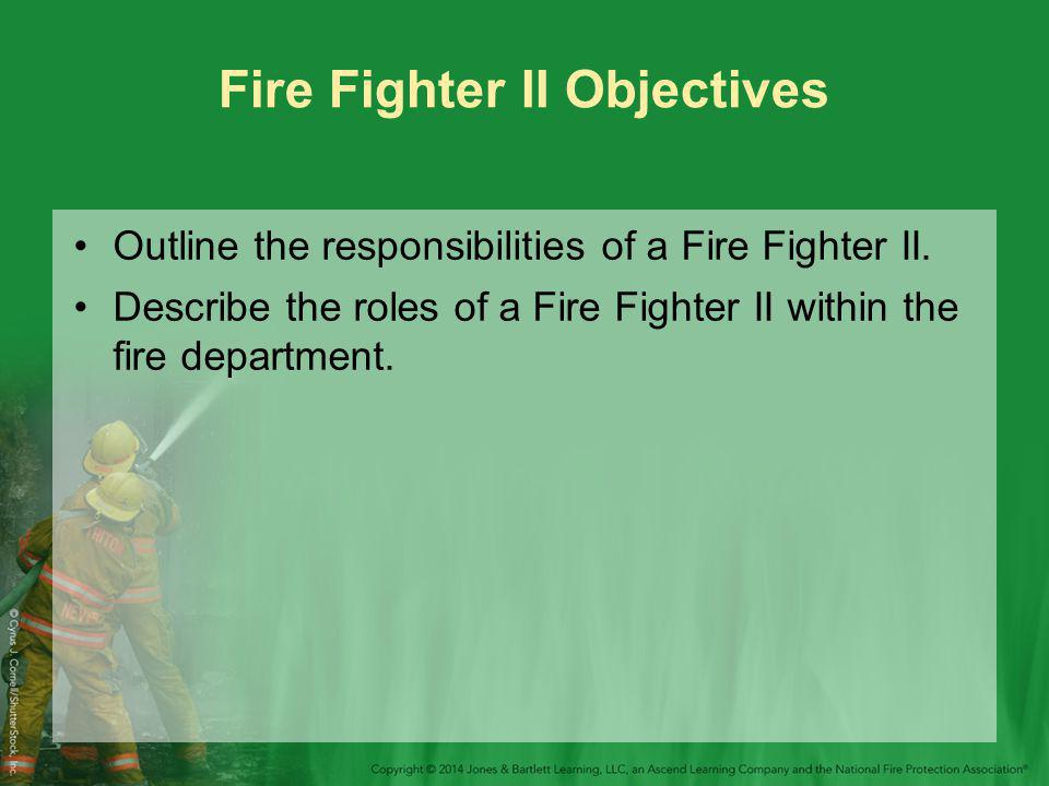 Introduction Training to become a fire fighter is not easy.