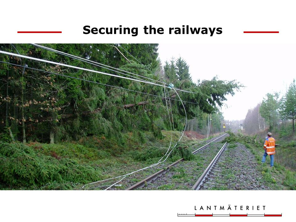 Securing the railways