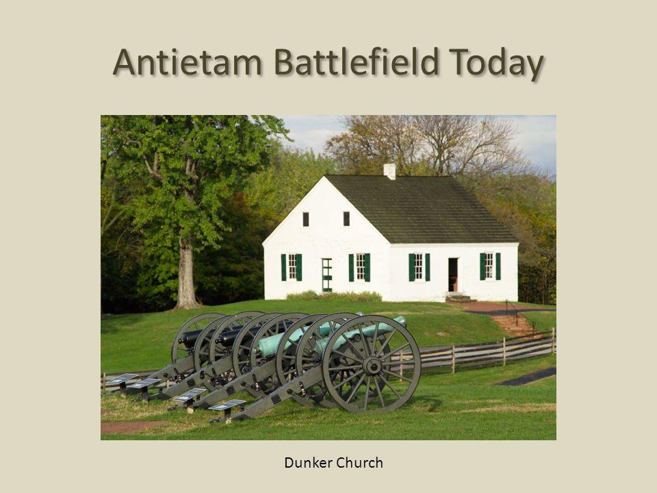 Antietam Battlefield Today Dunker Church