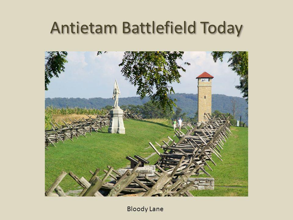 Antietam Battlefield Today Bloody Lane