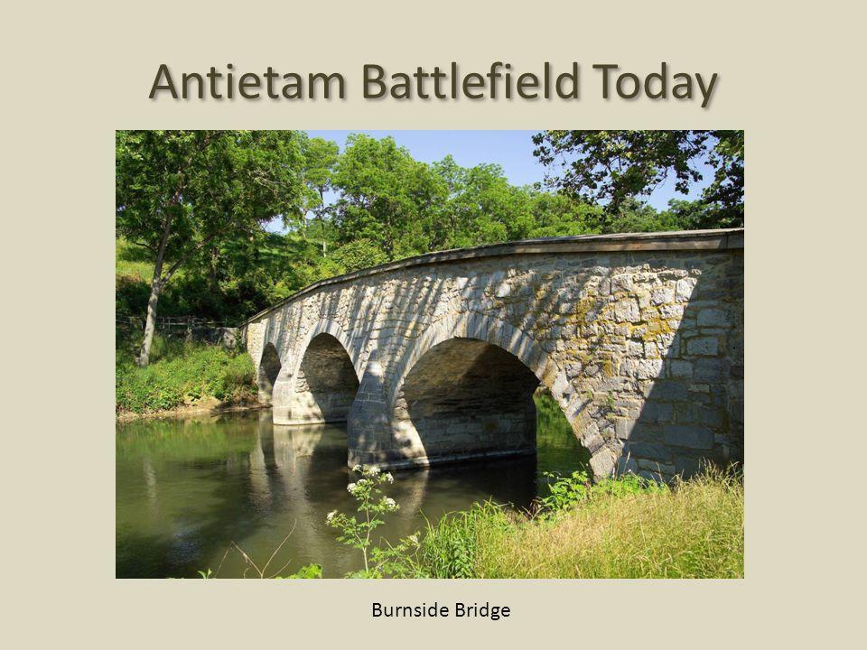 Antietam Battlefield Today Burnside Bridge