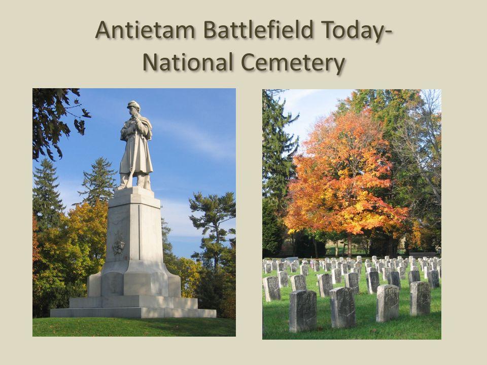 Antietam Battlefield Today- National Cemetery