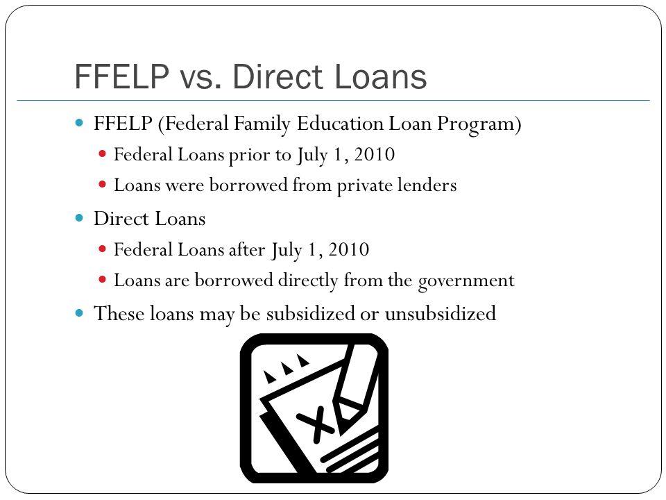 FFELP vs.