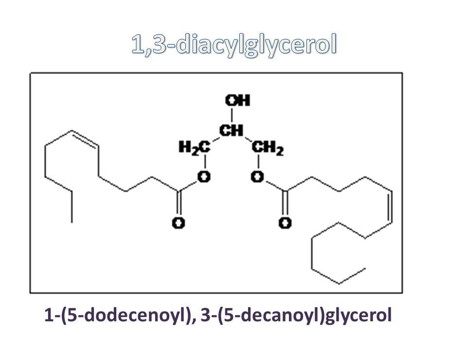 1-(5-dodecenoyl), 3-(5-decanoyl)glycerol