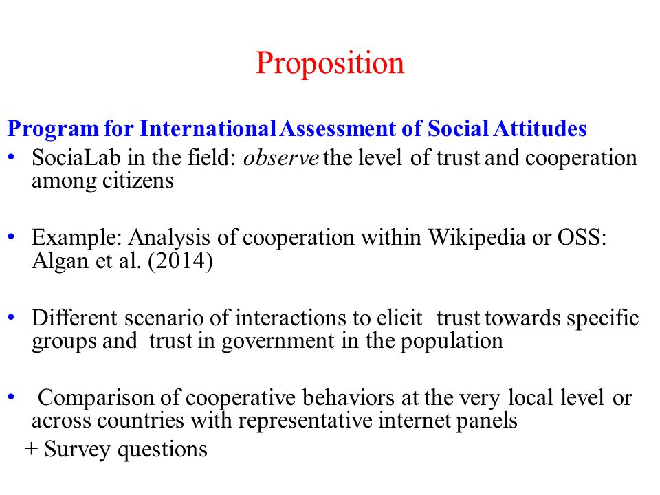 Which policy could boost social capital .