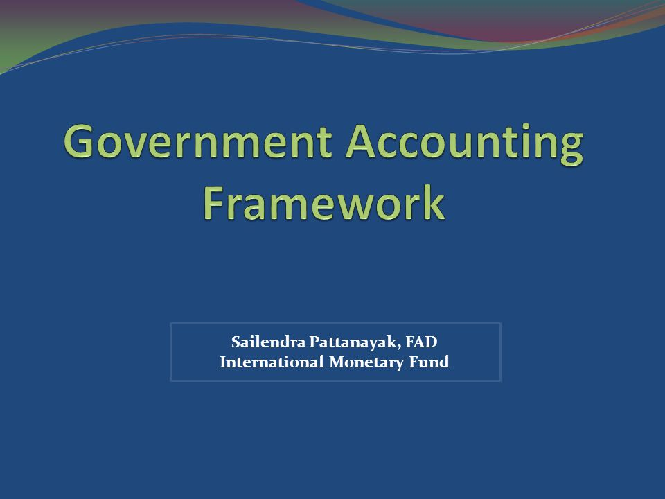 GFSM 2001 Statements Statement of Government Operations Statement of Sources and Uses of Cash Statement of Other Economic Flows Balance Sheet 22