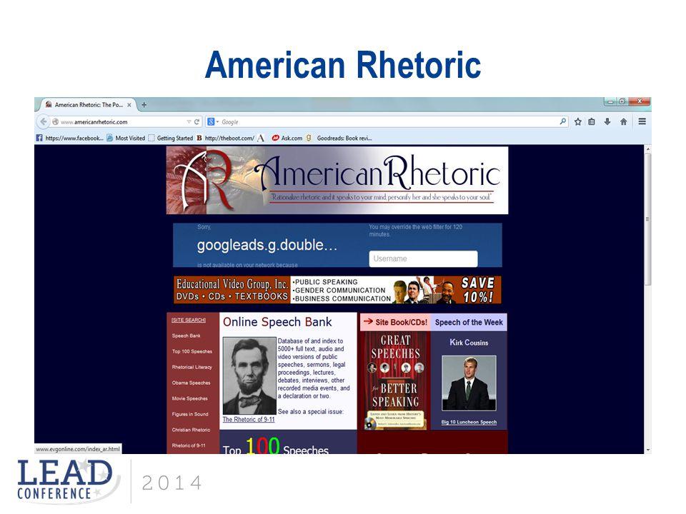 American Rhetoric