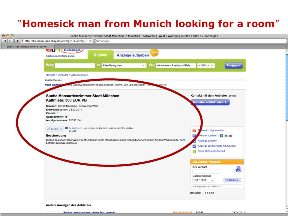 """Homesick man from Munich looking for a room"" 2"