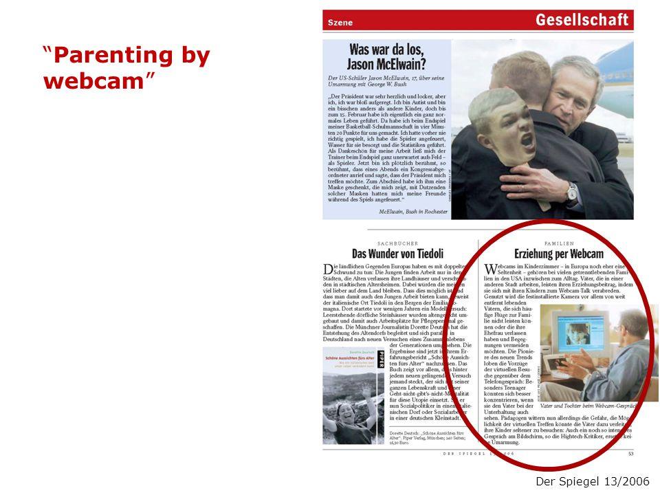 Der Spiegel 13/2006 Parenting by webcam