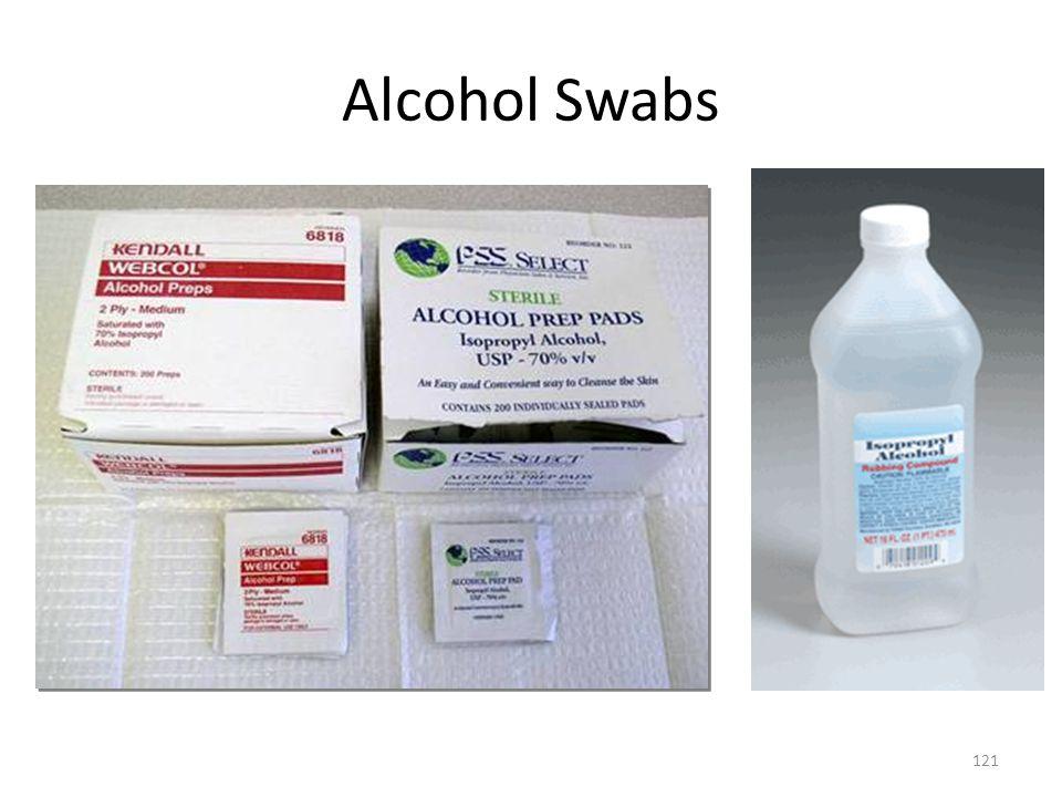 Alcohol Swabs 121