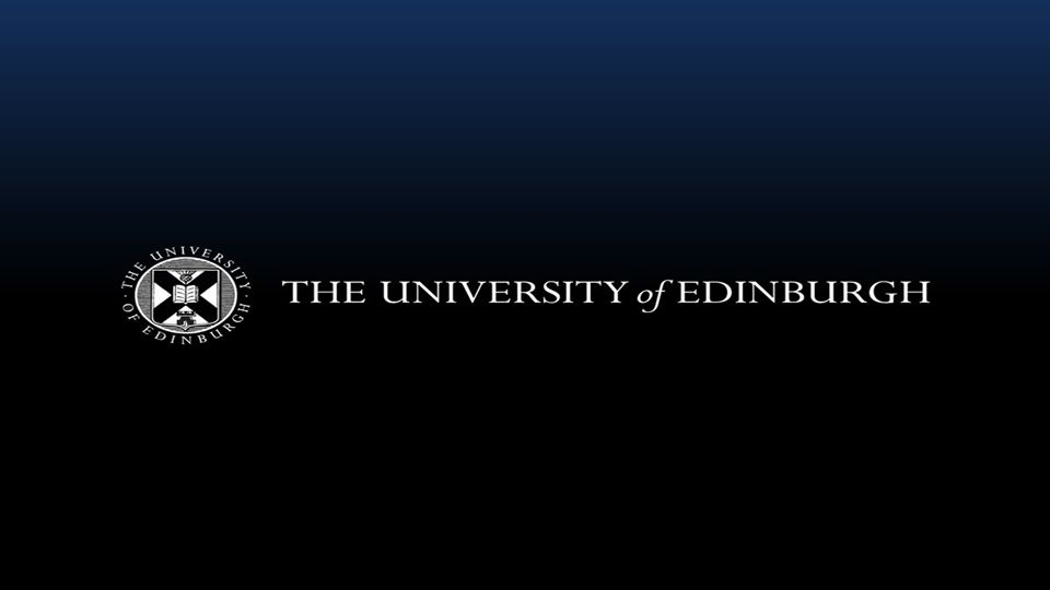 The changing student experience of Tier Four compliance An overview of how the University of Edinburgh s approach to Tier Four requirements has been shaped by the student experience from 2009 to the present day