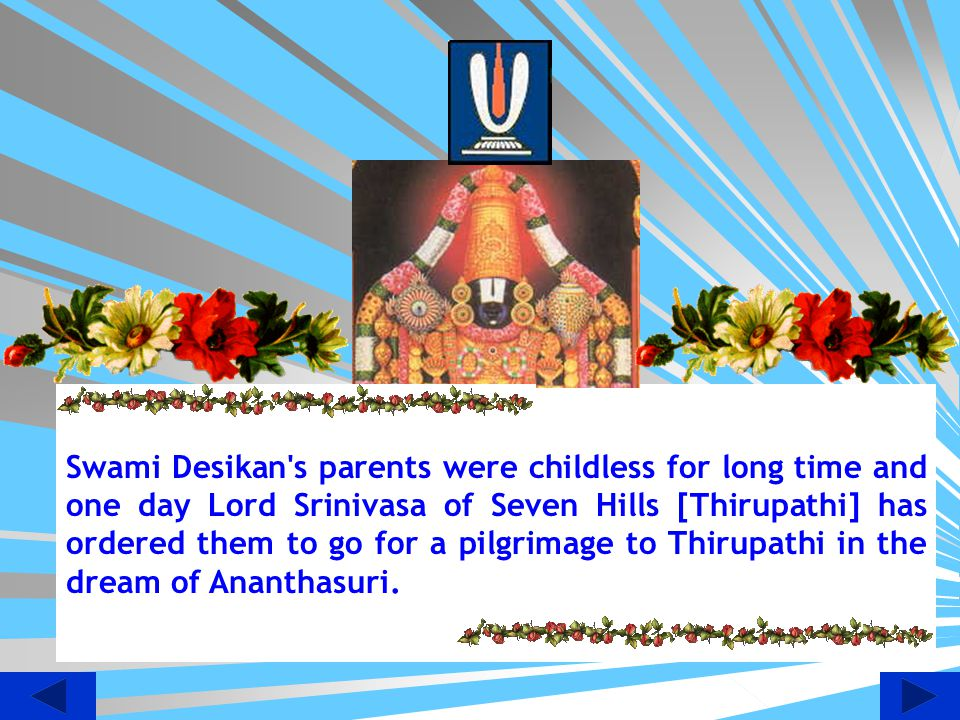 Garuda Alwar Gives Darshan to Desikan