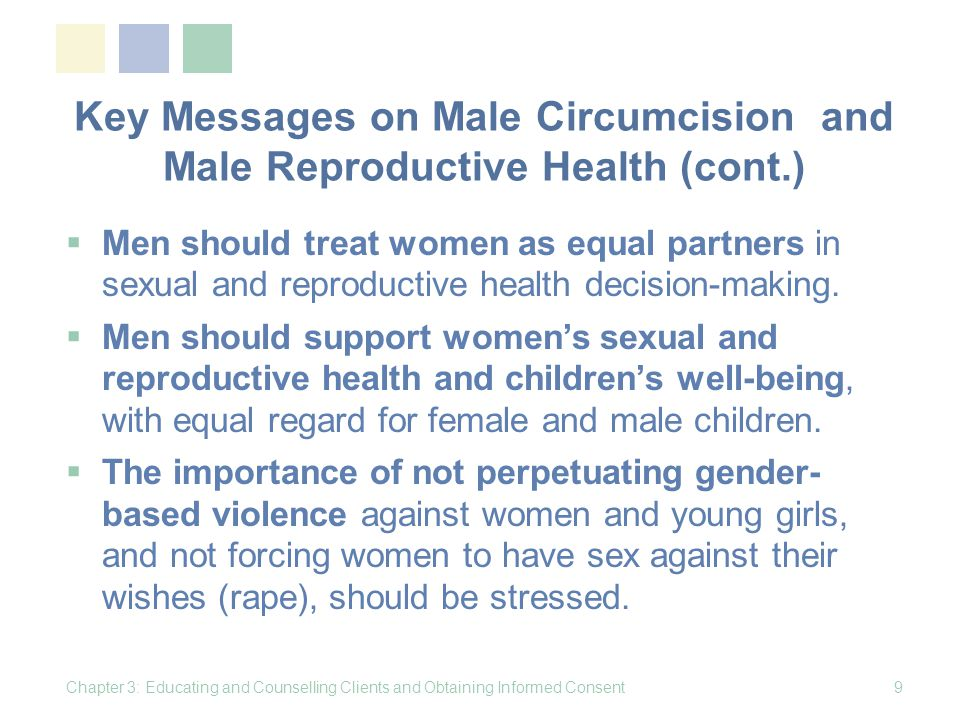 Group Education: What is male circumcision.