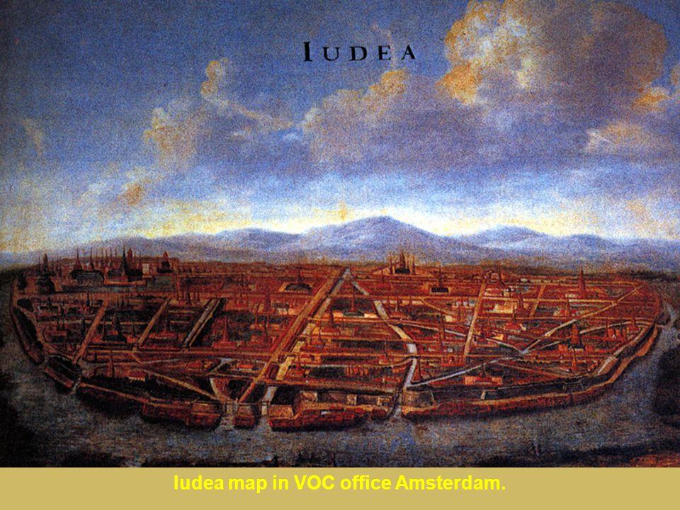 Iudea map in VOC office Amsterdam.