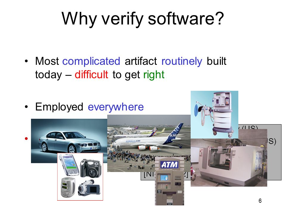 6 Why verify software.