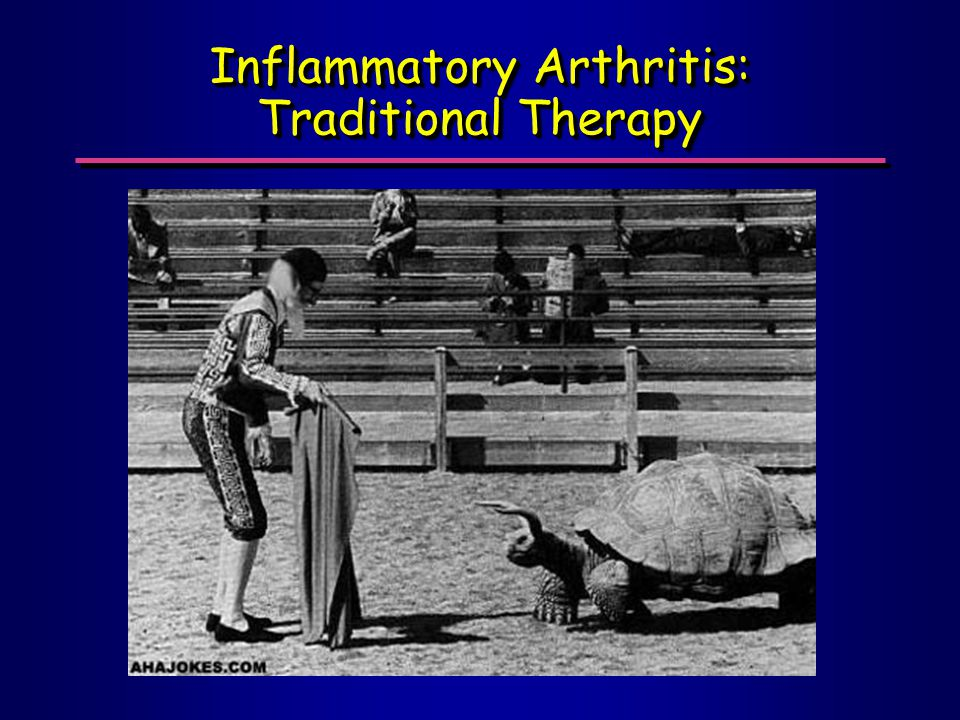 Inflammatory Arthritis: Traditional Therapy