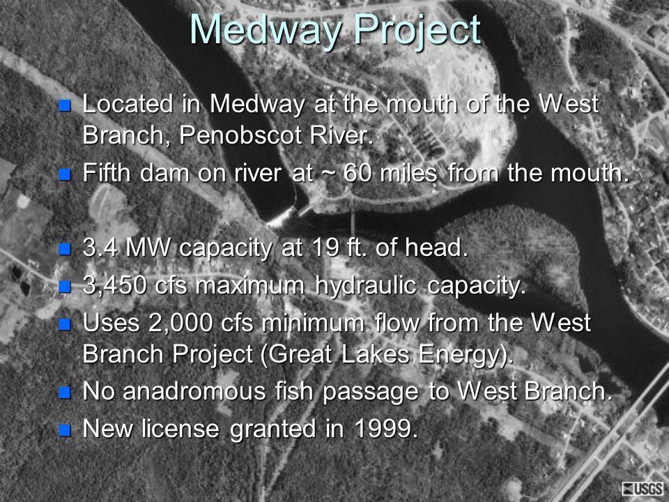 General Plan View of Medway Dam