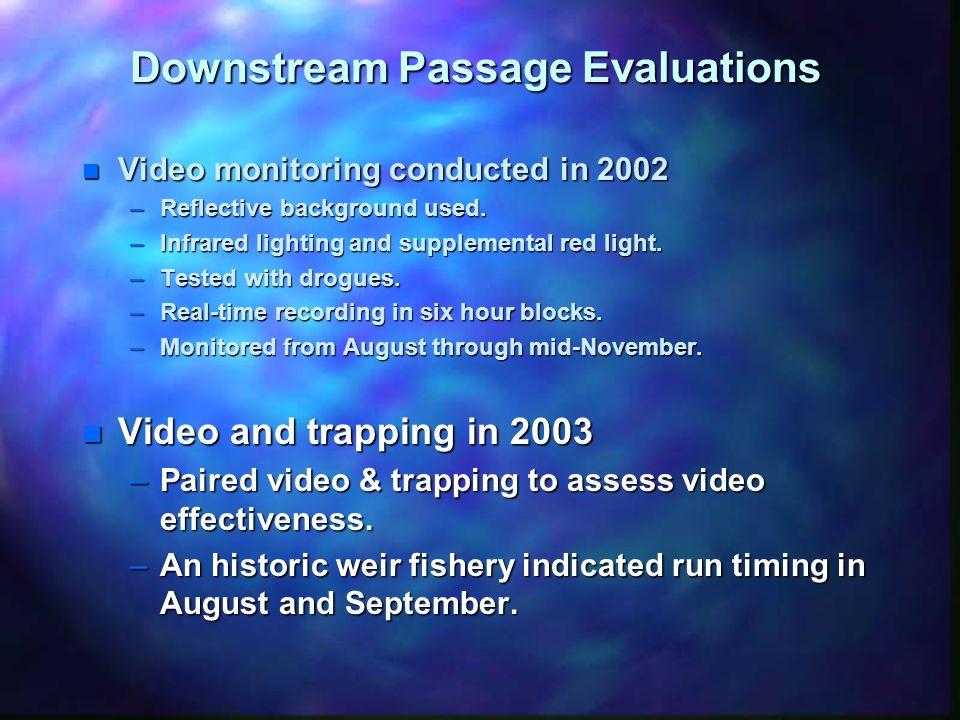 Upstream Passage Study Area
