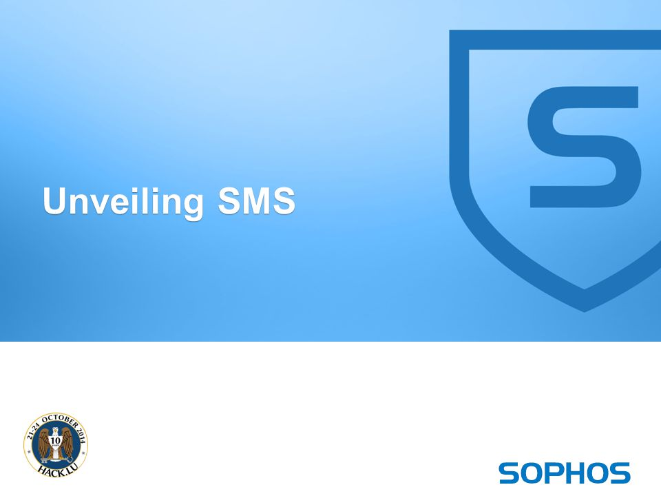 16 Unveiling SMS