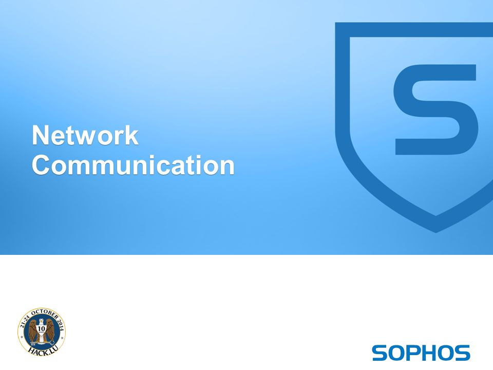 20 Network Communication