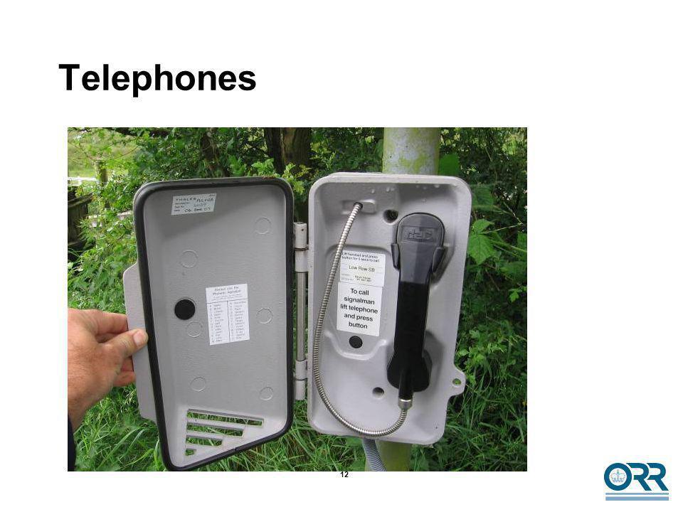 12 Telephones