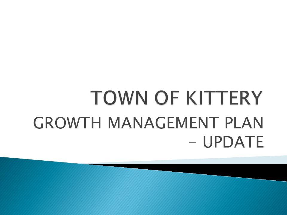 GROWTH MANAGEMENT PLAN - UPDATE