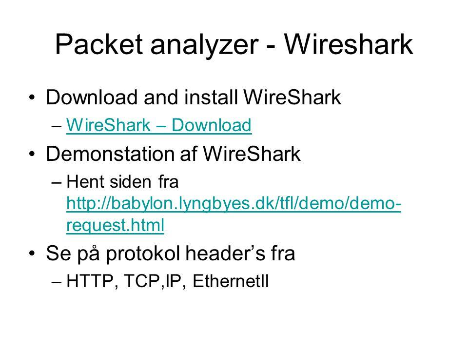 Screening Router – Filter Router.Packet filtering arbejder på TCP-, UDP- og IP-headerne evt.