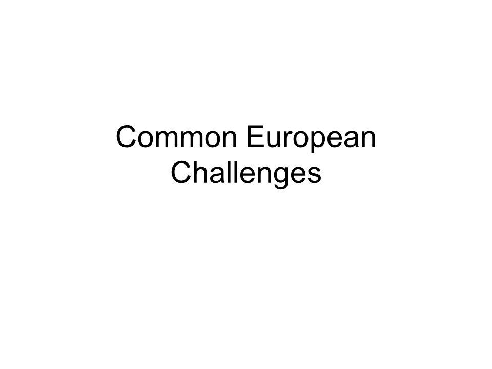 Common European Challenges
