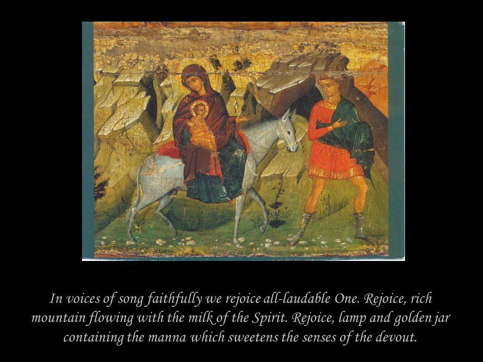 Most-holy Theotokos, save us
