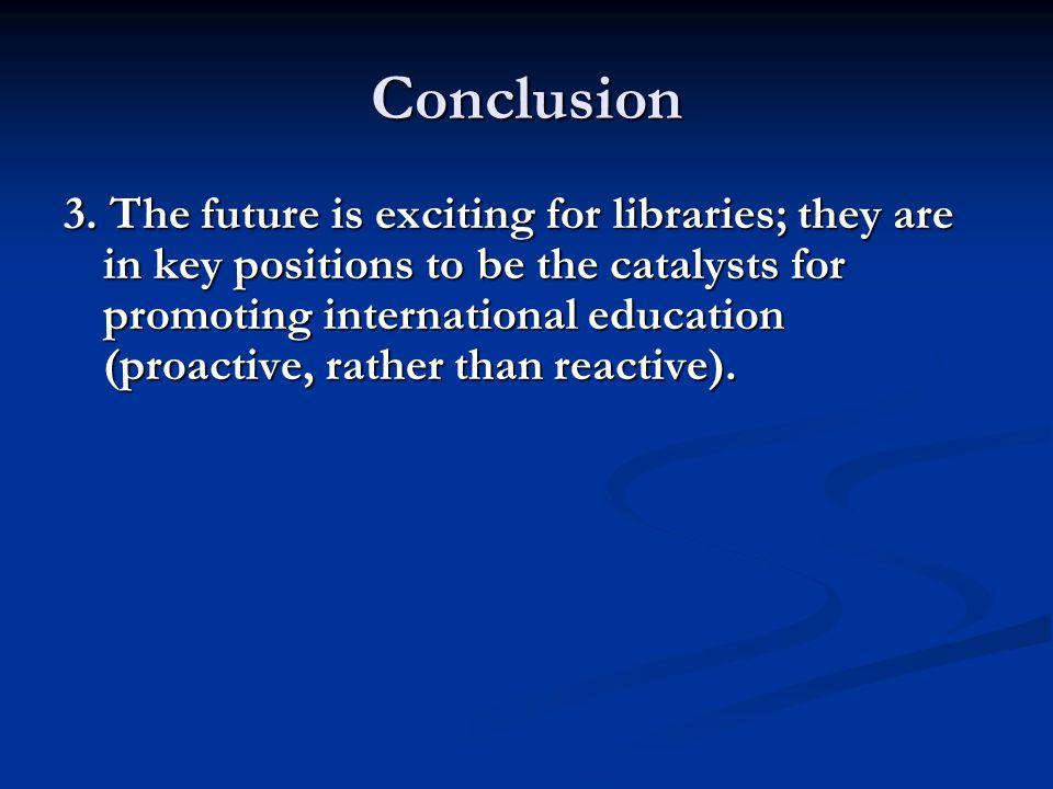 Conclusion 3.