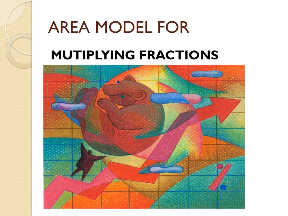 AREA MODEL FOR MUTIPLYING FRACTIONS