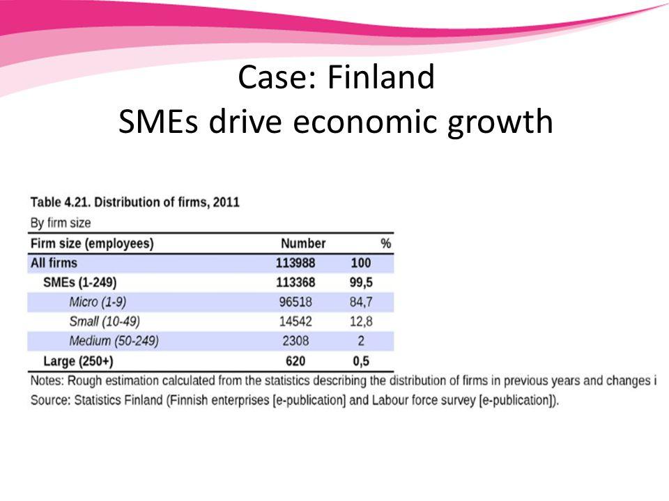 Case: Finland SMEs drive economic growth