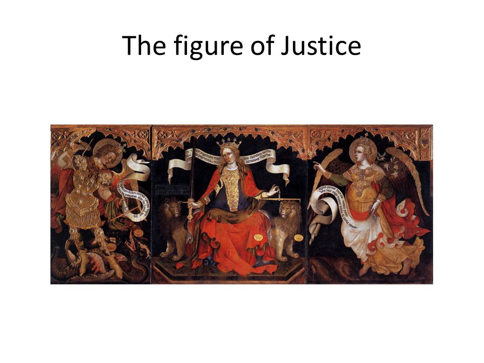 The figure of Justice