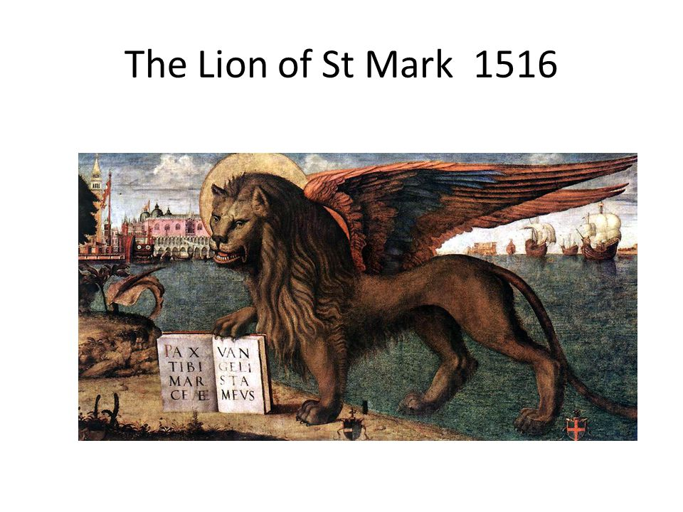 The Lion of St Mark 1516