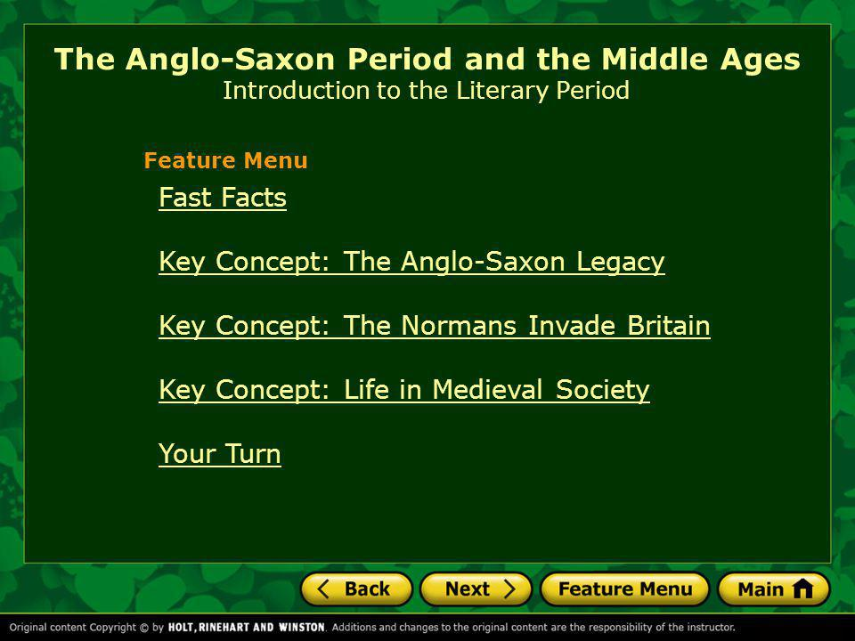 Historical Highlights King Alfred and his descendants unite Anglo- Saxon England in the late ninth century.