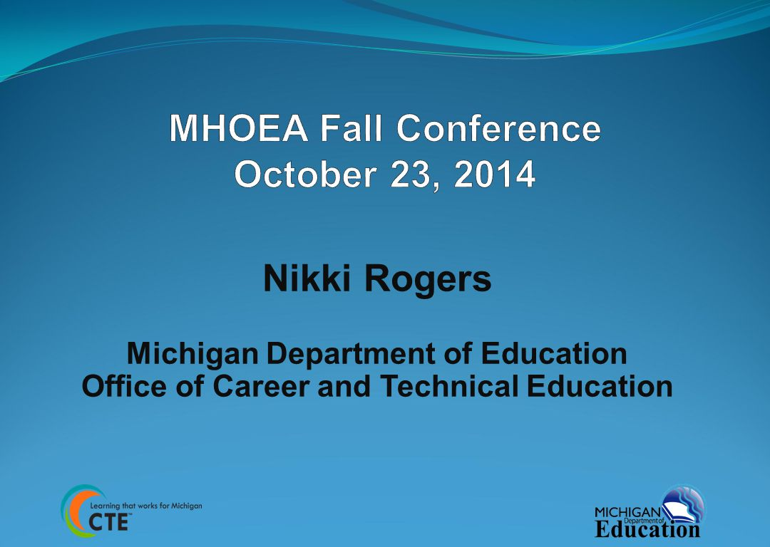 Agenda 2 Michigan Merit Credit Review and Revision Advisory Committee Clinicals Technical Assistance on CIP Self-Review