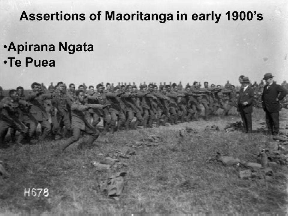 Assertions of Maoritanga in early 1900's Apirana Ngata Te Puea