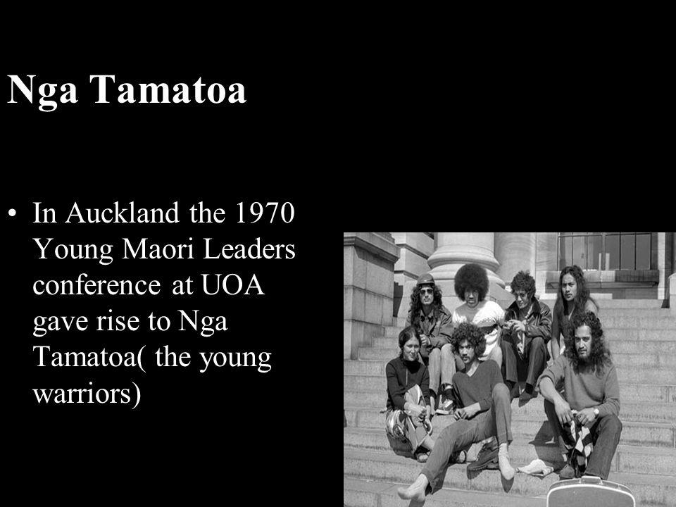 Nga Tamatoa.