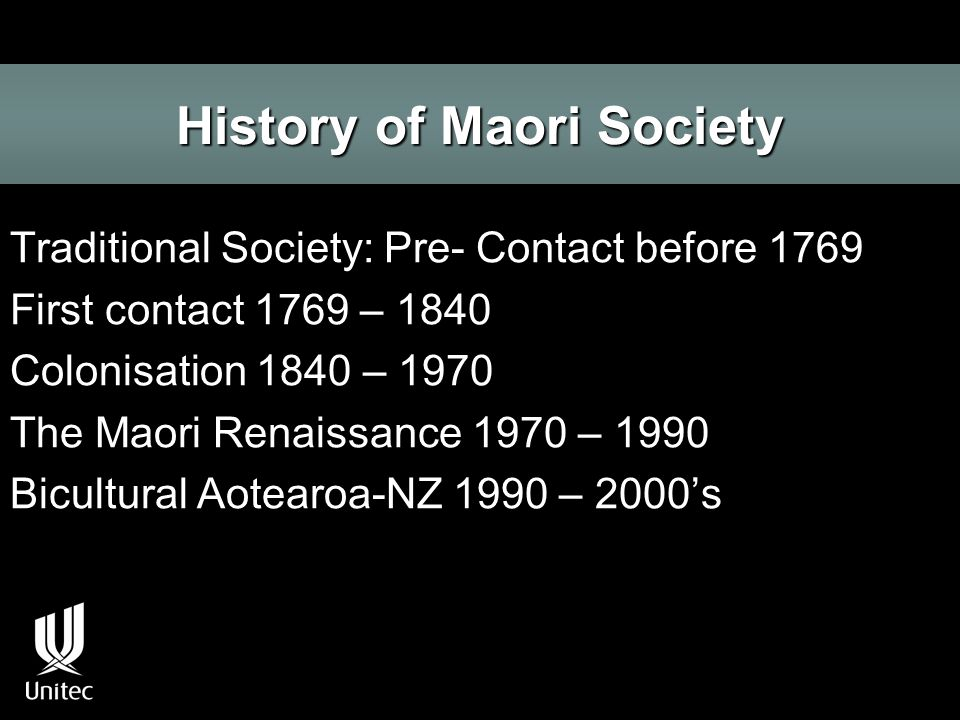 Indigneous Rights and the Maori Renaissance.
