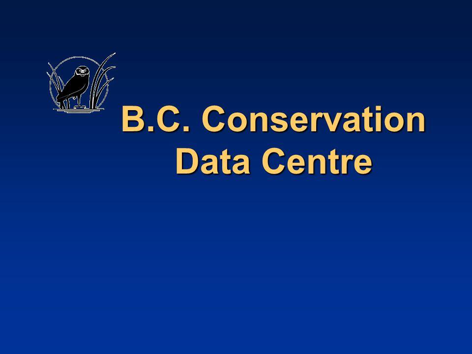 B.C. Conservation Data Centre