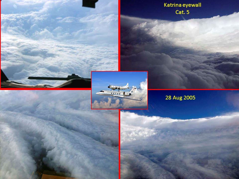 Katrina eyewall Cat. 5 28 Aug 2005