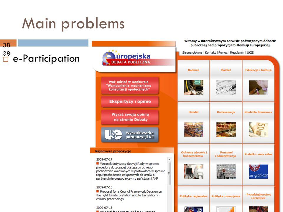 09-10-21 Main problems  e-Participation 38