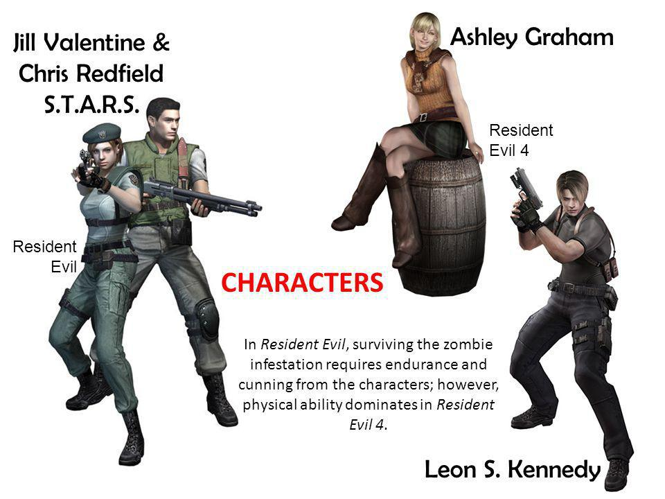Leon S. Kennedy Jill Valentine & Chris Redfield S.T.A.R.S.