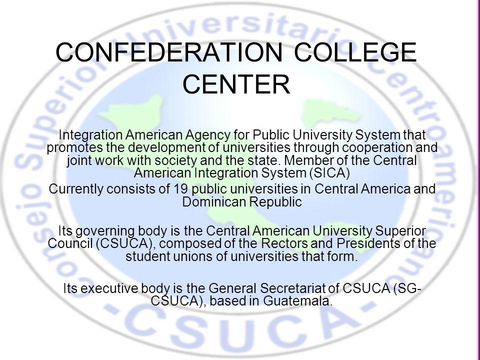 Public and private universities established in the region, by country COUNTRYPUBLIC UNIVERSITIES PRIVATE UNIVERSITIES TOTAL Guatemala 1/ 11112 El Salvador 2/ 12526 Honduras 3/ 61420 Nicaragua 4/ 44145 Costa Rica 5/ 55257 Panamá 6/ 52833 Belice1n.d.1 Rep.