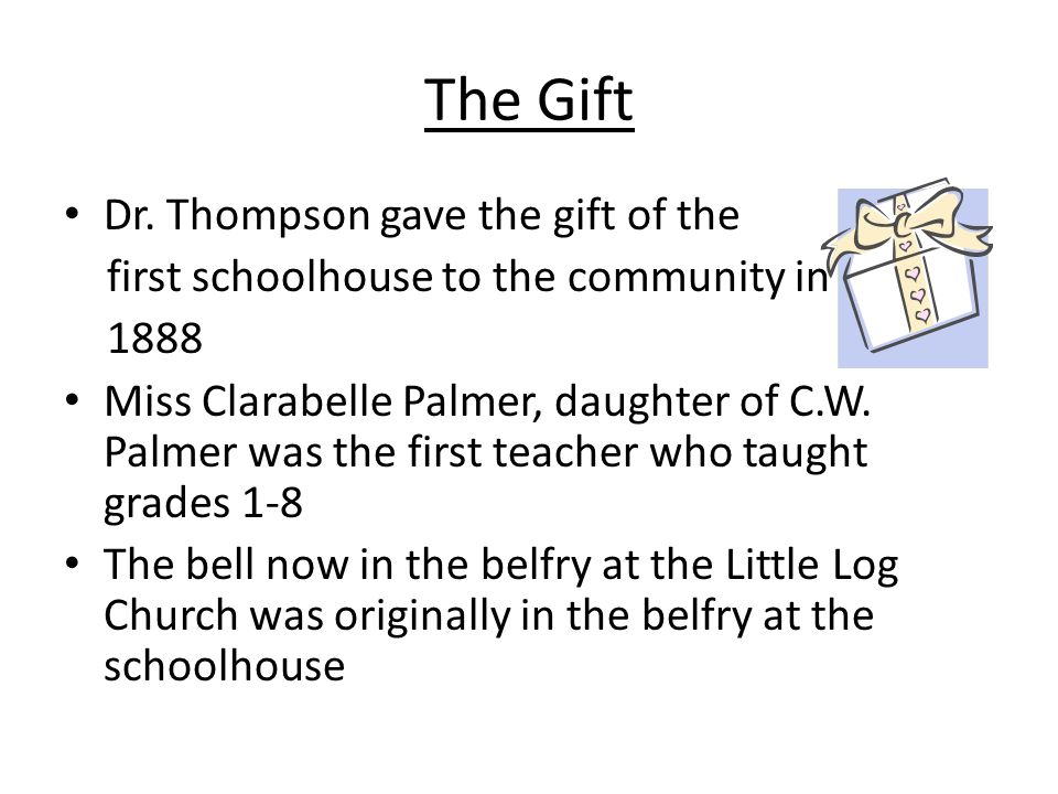 The Gift Dr.