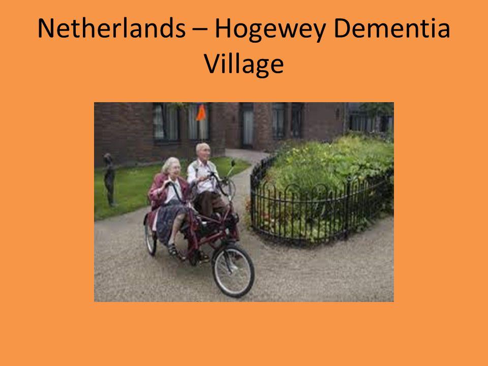 Netherlands – Hogewey Dementia Village