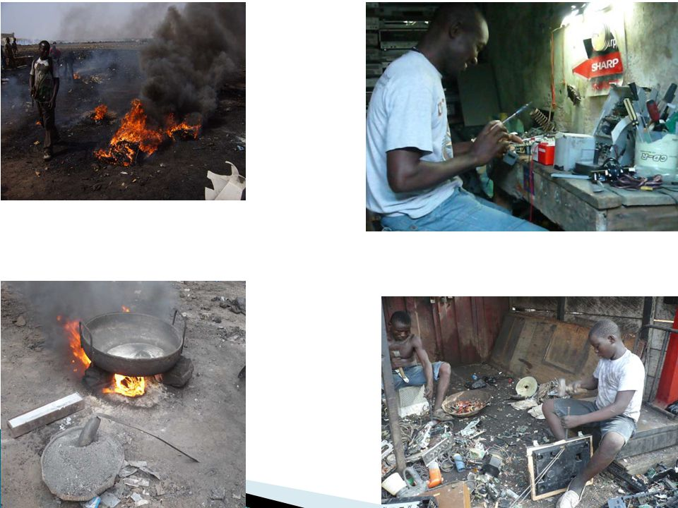 Sampling Location Exposure routeCancer health risk Adults e – waste workers (Arsenic) Adult e – waste workers (Cadmium) CTERMECTERME ASG1 Oral Dermal 0.037 0.076 0.059 0.087 0.023 0.054 0.072 0.067 ASG2 Oral Dermal 0.082 0.066 0.099 0.098 0.076 0.014 0.091 0.051 ASG3 Oral Dermal 0.039 0.026 0.060 0.076 0.080 0.0086 0.093 0.095 Table 2.0 Cancer health risk faced e – waste workers from accidental oral ingestion and dermal contact of As and Cd in soil samples